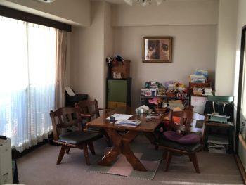和室横のリビングルームの写真